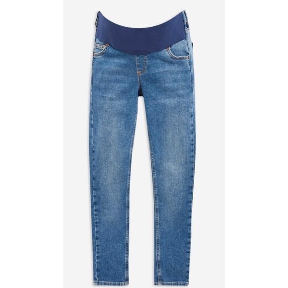 "Topshop MATERNITY ""Under Bump"" Jeans"